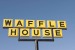 Waffle House Breakfast Restaurant Sign Lancaster SC USA
